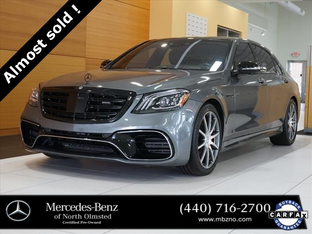 Pre-Owned 2018 Mercedes-Benz S-Class S 63 AMG®
