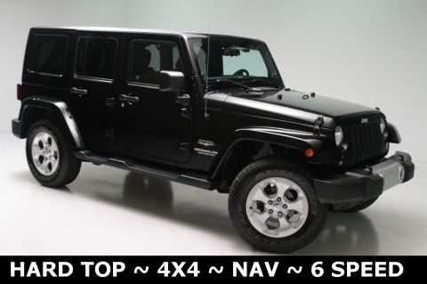 Pre-Owned 2014 Jeep Wrangler Unlimited Sahara